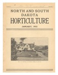 North and South Dakota Horticulture, January 1933