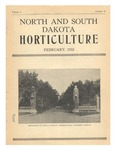 North and South Dakota Horticulture, February 1933