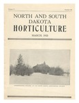 North and South Dakota Horticulture, March 1933