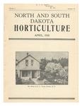 North and South Dakota Horticulture, April 1933