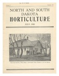 North and South Dakota Horticulture, July 1933