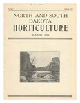 North and South Dakota Horticulture, August 1933