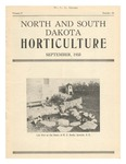 North and South Dakota Horticulture, September 1933