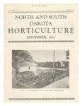 North and South Dakota Horticulture, November 1933