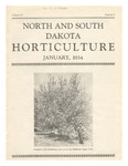 North and South Dakota Horticulture, January 1934