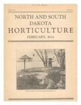 North and South Dakota Horticulture, February 1934