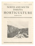 North and South Dakota Horticulture, March 1934
