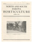 North and South Dakota Horticulture, April 1934