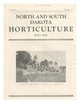 North and South Dakota Horticulture, July 1934