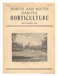 North and South Dakota Horticulture, September 1934