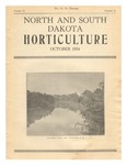 North and South Dakota Horticulture, October 1934