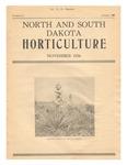 North and South Dakota Horticulture, November 1934