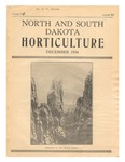 North and South Dakota Horticulture, December 1934
