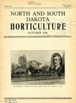 North and South Dakota Horticulture, October 1936