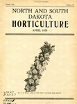North and South Dakota Horticulture, April 1935