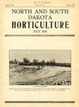 North and South Dakota Horticulture, July 1935