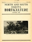 North and South Dakota Horticulture, August 1935