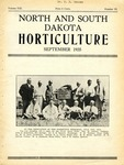 North and South Dakota Horticulture, September 1935 by North and South Dakota Horticultural Societies