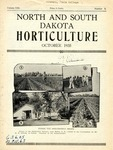 North and South Dakota Horticulture, October 1935