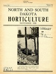 North and South Dakota Horticulture, November 1935 by North and South Dakota Horticultural Societies