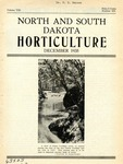 North and South Dakota Horticulture, December 1935 by North and South Dakota Horticultural Societies
