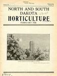 North and South Dakota Horticulture, February 1936 by North and South Dakota Horticultural Societies