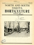 North and South Dakota Horticulture, March 1936