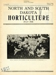 North and South Dakota Horticulture, July 1936 by North and South Dakota Horticultural Societies