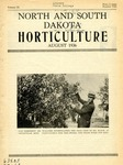 North and South Dakota Horticulture, August 1936