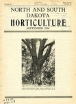 North and South Dakota Horticulture, September 1936