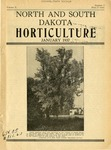 North and South Dakota Horticulture, January 1937