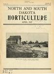 North and South Dakota Horticulture, April 1937