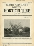 North and South Dakota Horticulture, July 1937