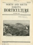 North and South Dakota Horticulture, August 1937
