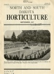 North and South Dakota Horticulture, September 1937