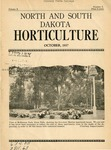 North and South Dakota Horticulture, October 1937
