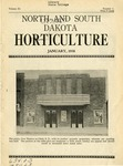 North and South Dakota Horticulture, January 1938