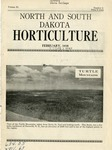 North and South Dakota Horticulture, February 1938