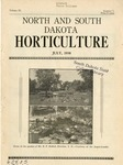 North and South Dakota Horticulture, July 1938