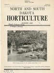 North and South Dakota Horticulture, August 1938