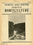 North and South Dakota Horticulture, March 1937