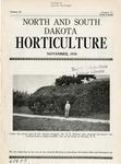 North and South Dakota Horticulture, November 1938