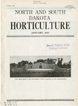 North and South Dakota Horticulture, January 1939