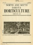 North and South Dakota Horticulture, February 1939