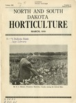 North and South Dakota Horticulture, March 1939