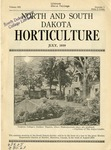 North and South Dakota Horticulture, July 1939