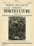 North and South Dakota Horticulture, August 1939