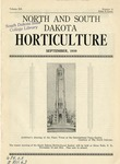 North and South Dakota Horticulture, September 1939