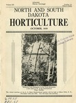 North and South Dakota Horticulture, October 1939