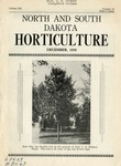 North and South Dakota Horticulture, December 1939